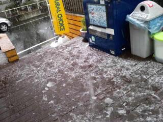 雪と花粉症